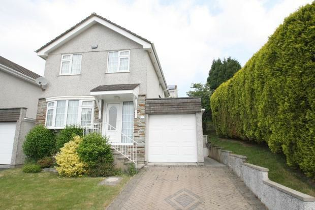 Thumbnail 3 bed detached house to rent in Culver Close, Eggbuckland, Plymouth