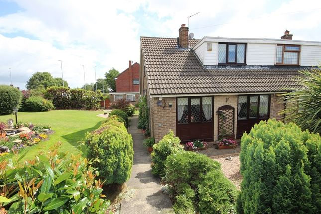 Thumbnail Semi-detached house for sale in Springhead Road, Rothwell, Leeds