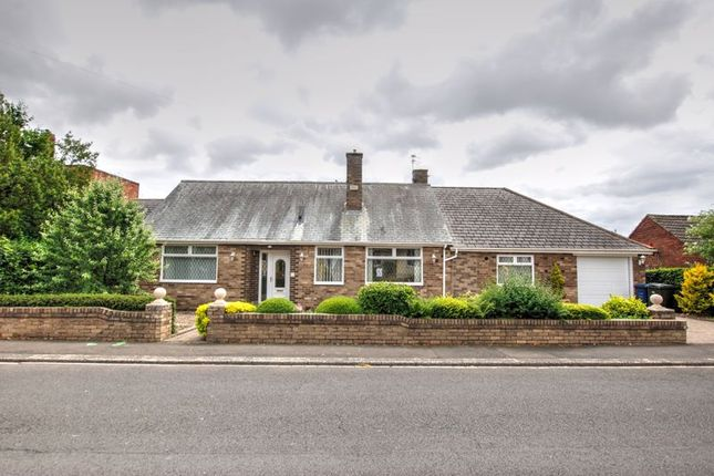 Thumbnail Detached bungalow for sale in South Ridge, Gosforth, Newcastle Upon Tyne