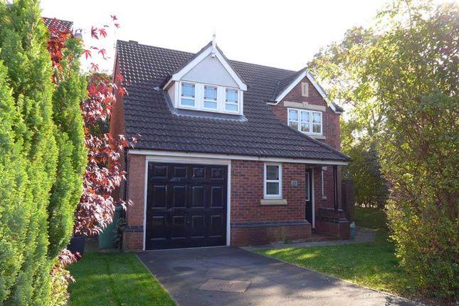 Thumbnail Detached house for sale in Caernarfon Close, Thornton-Cleveleys
