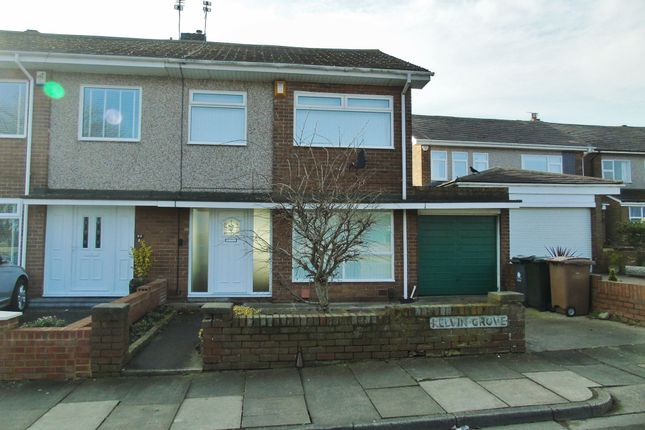 Thumbnail Semi-detached house to rent in Kelvin Grove, North Shields