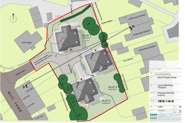 Thumbnail Land for sale in Mill Road, Thingwall, Wirral