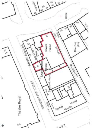 Detail Plan of Suite 3, First Floor, Shakespeare House, Newcastle Upon Tyne NE1