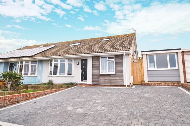 Thumbnail Semi-detached bungalow for sale in Harbour View Close, Bishopstone, Seaford