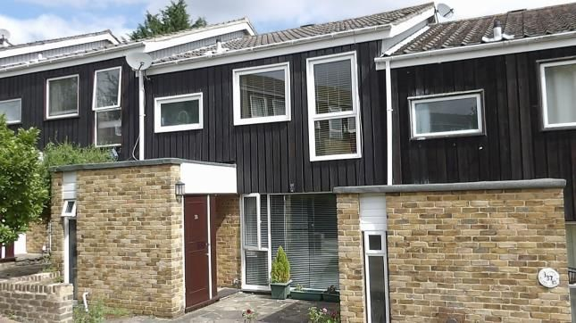 Thumbnail Terraced house for sale in Crofters Mead, Court Wood Lane, Croydon, Surrey