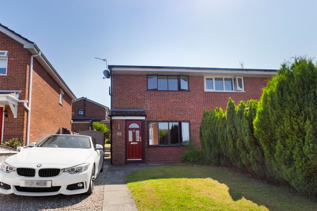 2 bed semi-detached house for sale in Cloughwood Crescent, Shevington, Wigan WN6
