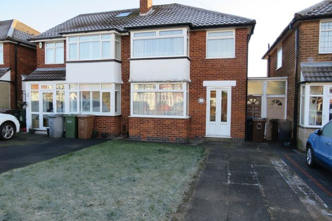 Thumbnail Semi-detached house for sale in Selworthy Road, Castle Bromwich, Birmingham
