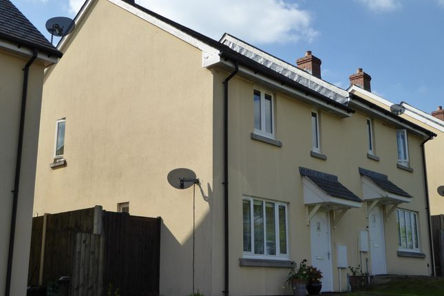 Thumbnail Semi-detached house for sale in Windgrove Close, Upottery, Honiton, Devon