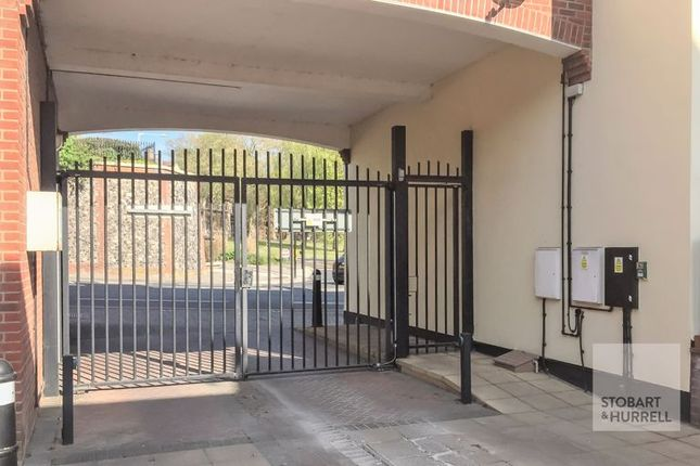 Gated Entrance of St. Martin At Bale Court, Norwich NR1