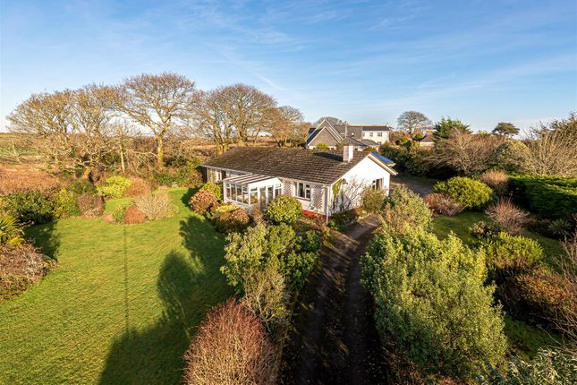 Thumbnail Detached bungalow for sale in The Fairway, Helford Passage, Mawnan Smith