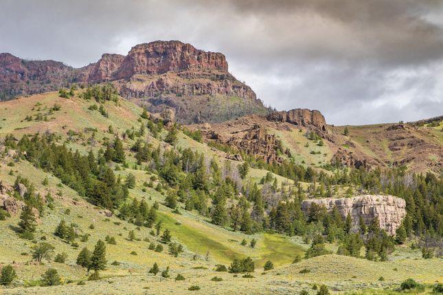 Mountain Views of Cody, Wyoming, Usa