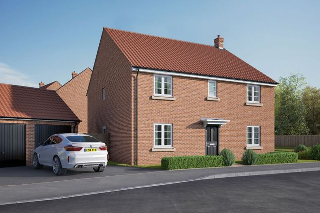 "Thumbnail Detached house for sale in ""The Attingham"" at Isemill Road, Burton Latimer, Kettering"