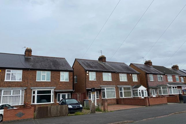 Thumbnail Semi-detached house for sale in Kerrysdale Avenue, Leicester, Leicestershire