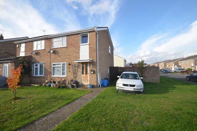 Thumbnail Semi-detached house for sale in Fairmead Crescent, Rushden