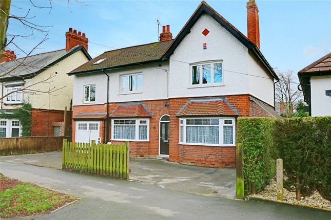 Thumbnail Detached house for sale in Tranby Avenue, Hessle, East Yorkshire