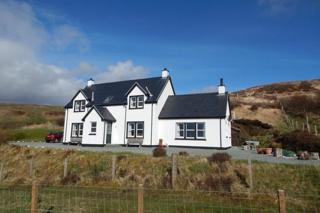 Thumbnail Detached house for sale in 28 Fiskavaig, Carbost, Isle Of Skye