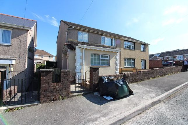 Thumbnail Semi-detached house for sale in Gwent Way, Tredegar