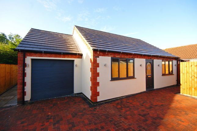 Thumbnail Detached bungalow for sale in Lincoln Road, Goltho, Market Rasen