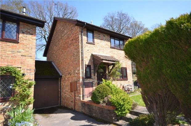 Thumbnail Link-detached house for sale in Shaftesbury Mount, Blackwater, Surrey