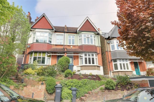 Thumbnail Semi-detached house to rent in Blenheim Park Road, South Croydon