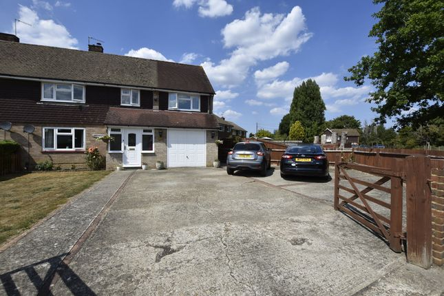 Thumbnail Semi-detached house for sale in Lee Street, Horley, Surrey