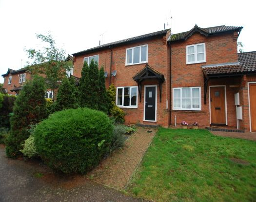 Thumbnail Terraced house to rent in Epsom Close, Leighton Buzzard