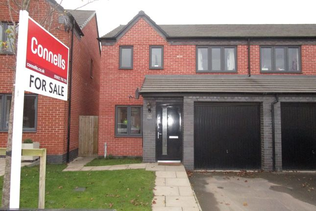 Thumbnail Semi-detached house for sale in Columbia Crescent, Oxley, Wolverhampton