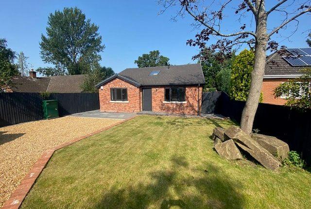 Thumbnail Bungalow to rent in Tunbridge Close, Wistaston, Crewe, Cheshire