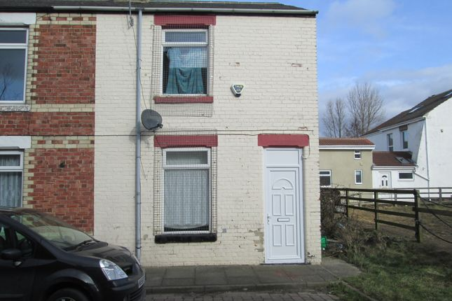 Thumbnail End terrace house for sale in Edward Street, Eldon Lane, Bishop Auckland