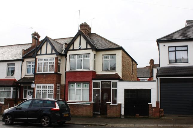 Thumbnail End terrace house for sale in Berwick Road, Wood Green, London