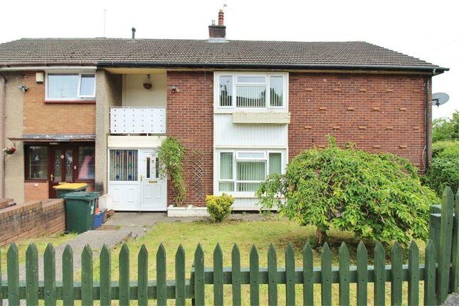 Thumbnail Flat for sale in Humber Close, Bettws, Newport