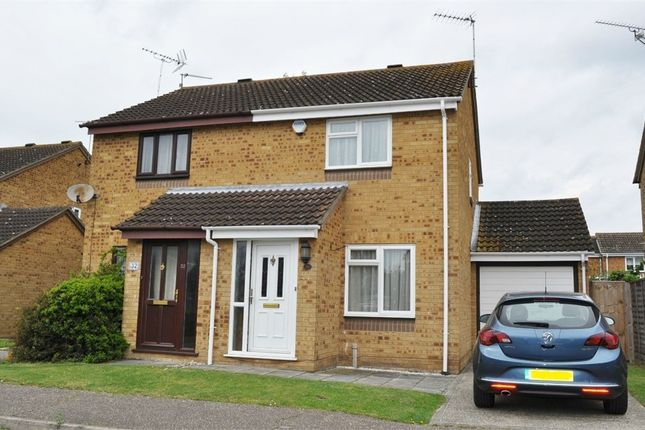 Thumbnail Semi-detached house for sale in Bouchers Mead, Springfield, Chelmsford, Essex