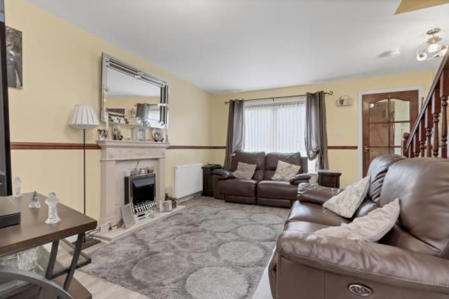 Lounge of Stewart Crescent, Barrhead, Glasgow, East Renfrewshire G78