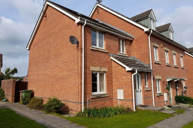 Thumbnail End terrace house to rent in Black Prince Road, Caerphilly