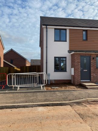 Thumbnail End terrace house to rent in Channings Drive, Tithebarn, Exeter
