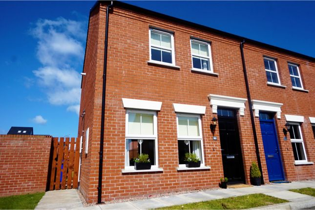 Thumbnail Town house to rent in Linen Crescent, Bangor