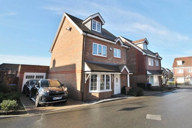 Thumbnail Detached house for sale in Brookwood Farm Drive, Knaphill, Woking, Surrey