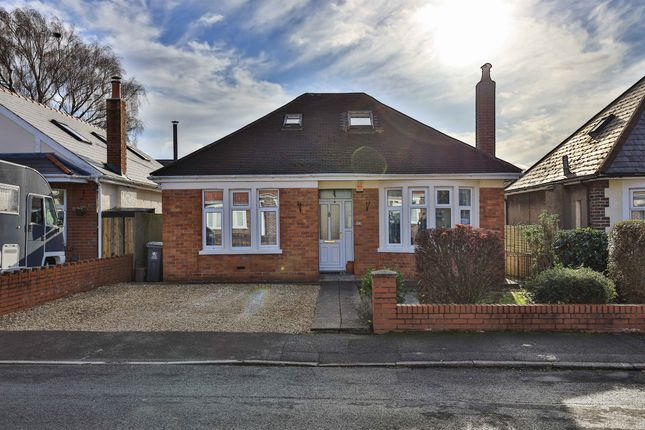 Thumbnail Detached bungalow for sale in Heol Gwrgan, Whitchurch, Cardiff