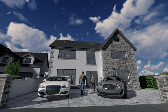 Thumbnail Detached house for sale in Ty Cornel, Sitwell Way, Port Talbot