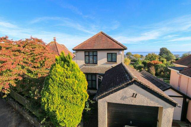 Thumbnail Detached house for sale in Woodland Avenue, Teignmouth