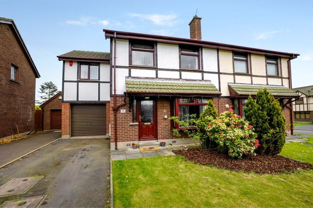 Thumbnail Semi-detached house for sale in Hampton Park, Bangor