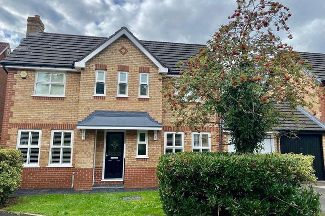 Thumbnail Detached house to rent in Greyknotts, Boothstown, Manchester