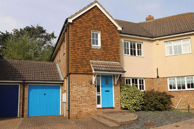 Thumbnail Semi-detached house for sale in Seagrove Way, Seaford, East Sussex