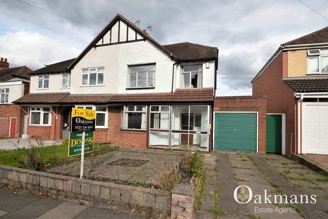 Thumbnail Semi-detached house for sale in Langleys Road, Birmingham, West Midlands.