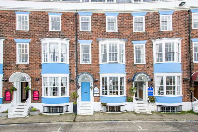 Terraced house for sale in The Esplanade, Weymouth, Dorset