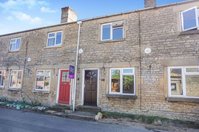 Thumbnail Terraced house for sale in High Street, Swayfield, Grantham