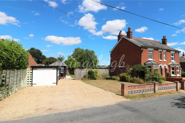 Thumbnail Semi-detached house for sale in East Lane, Dedham, Colchester, Essex