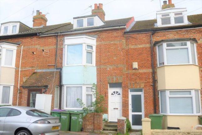 Thumbnail Terraced house for sale in Garden Road, Folkestone
