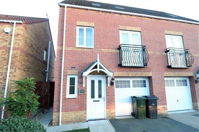 Thumbnail Semi-detached house to rent in Pearwood Close, Goldthorpe, Rotherham, South Yorkshire, South Yorkshire