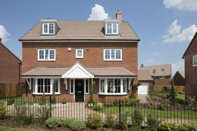 "Thumbnail Detached house for sale in ""Stratford"" at Blackthorn Crescent, Brixworth, Northampton"